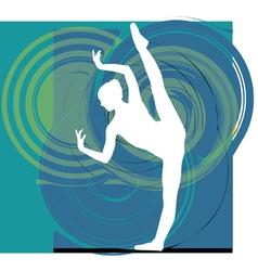 Ballerina vector image vector image