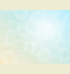 bokeh texture on a two-tone background vector image