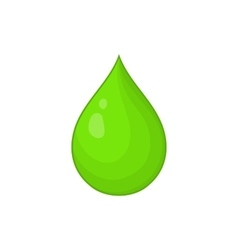 Drop of water icon cartoon style vector image