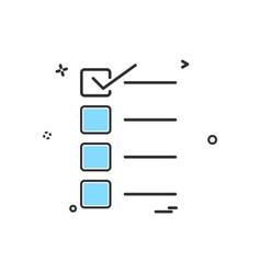 form icon design vector image