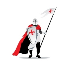 Knight Cartoon vector image