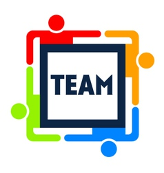 Team Square Logo vector