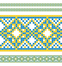 ukrainian pattern 06 vector image