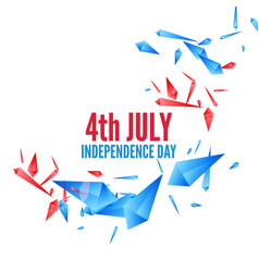 united stated independence day vector image