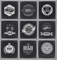 Collection of Premium Quality vector image vector image