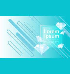 Abstract geometrical background banner copy space vector