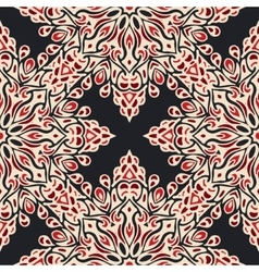 Abstract seamless pattern for fabric vector image vector image