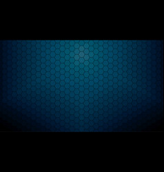 Dark blue hexagonal clear background vector
