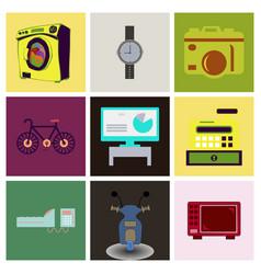 Digital photography sign symbols vector