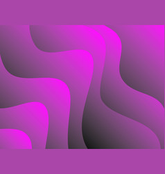 fluid colorful shapes composition trendy vector image