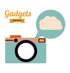 Gadgets design vector