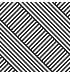 Geometric striped diagonal seamless pattern vector