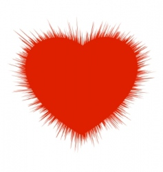 Heart burst vector