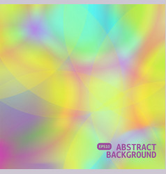 holographic abstract background bright vector image