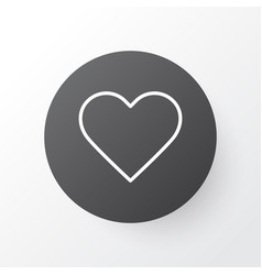like button icon symbol premium quality isolated vector image