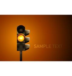 Traffic Lamp vector image vector image
