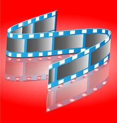Reel of film vector image