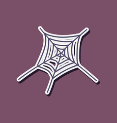 Cobweb icon outline of cobweb icon for web vector