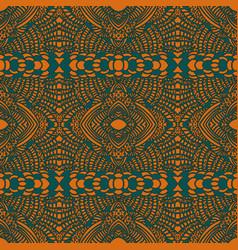 Ethnic stylized seamless pattern vector