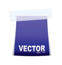 label tag icon vector image