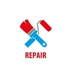 logo for repair vector image