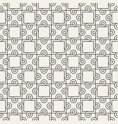 Seamless interlacing circles pattern simple vector