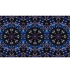 Striped seamless pattern Original colorful border vector