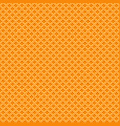 yellow waffle texture pattern seamless background vector image