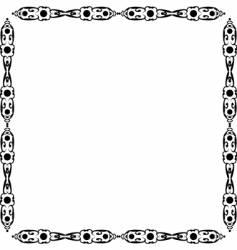 beauty design frame vector image
