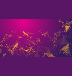 abstract background for design concept technology vector image