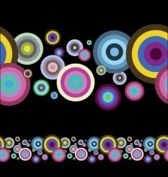 artistic circles vector image