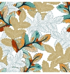 Branch Seamless Pattern vector image vector image