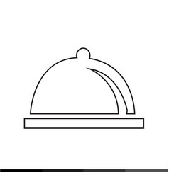 cloche icon design vector image