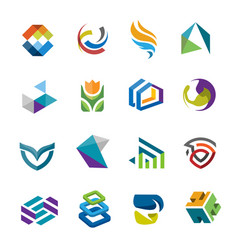 creative modern logo vector image
