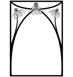 Daisy frame vector
