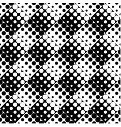 geometrical seamless dot pattern background vector image