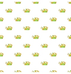 Jack plane pattern cartoon style vector image