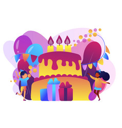 kids birthday concept vector image
