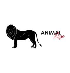 lion icon logo symbol vector image