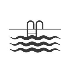 Pool icon Swimming design graphic vector