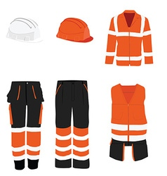Protective workwear vector