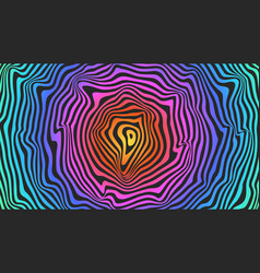 psychedelic imagine paradigm pattern smooth vector image