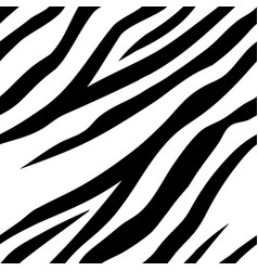 Seamless pattern with zebra stripes design vector