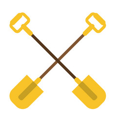 Shovel garden equipment image vector