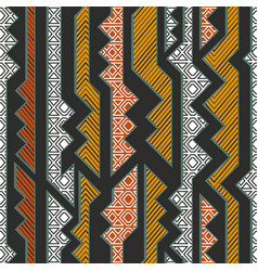 tribal geometric pattern vector image