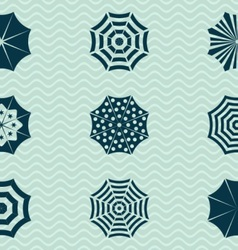 Umbrella icons vector image