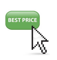 Best Price Button Click vector image vector image