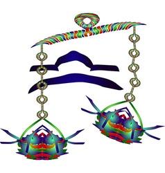 Horoscope Libra vector image