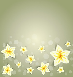 cute spring background vector image vector image