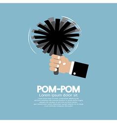 Pom-Pom Of Cheerleader vector image